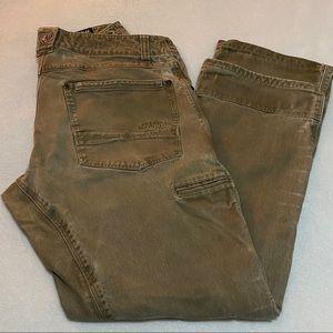 Kuhl rdyr vintage patina dyed 32x30 brown pants